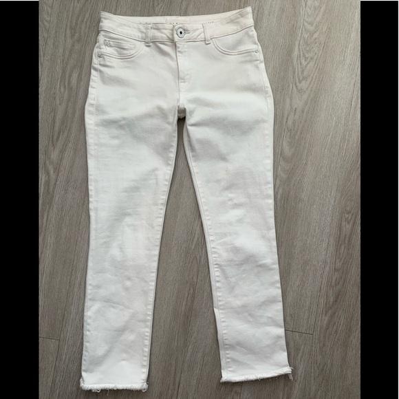 DL1961 Denim - DL1961 Mara straight ankle Oakley 27 white jeans